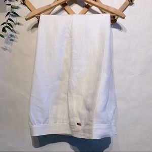 Escada Sport White Linen Pants